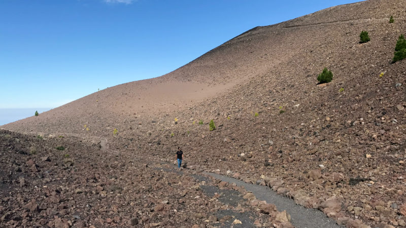 Hiking Volcano Route in La Palma
