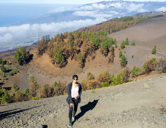 Hiking the Volcano Route in La Palma