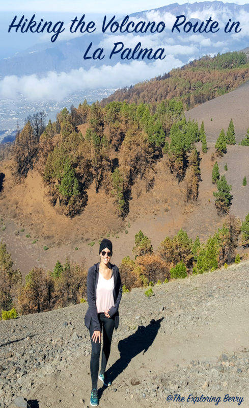 Hiking the Volcano Route in La Palma -Travel inspiration for hikers visiting the Canary Islands.