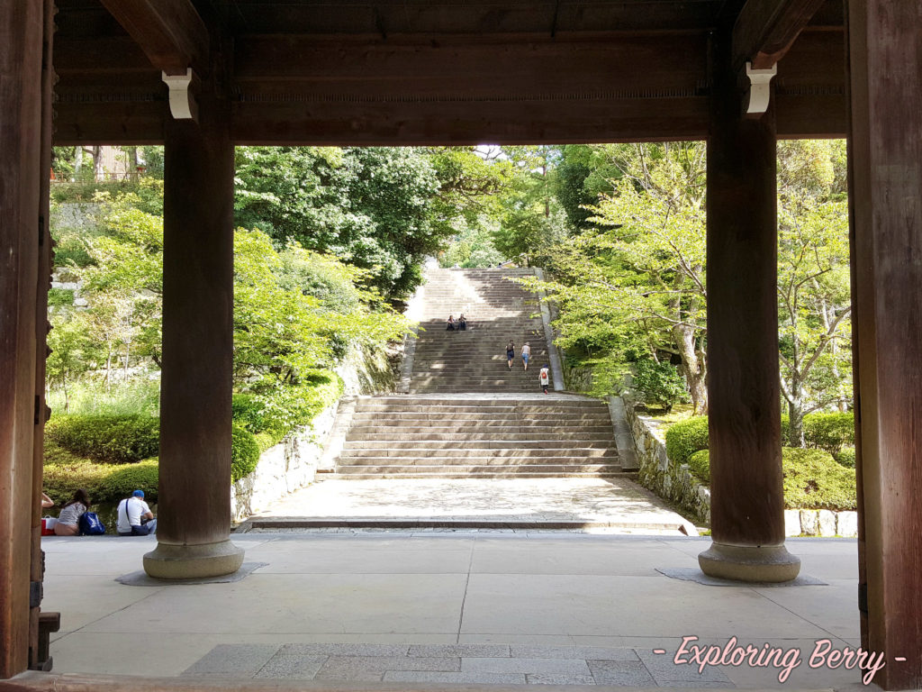 Grand Staircase in Chion-in