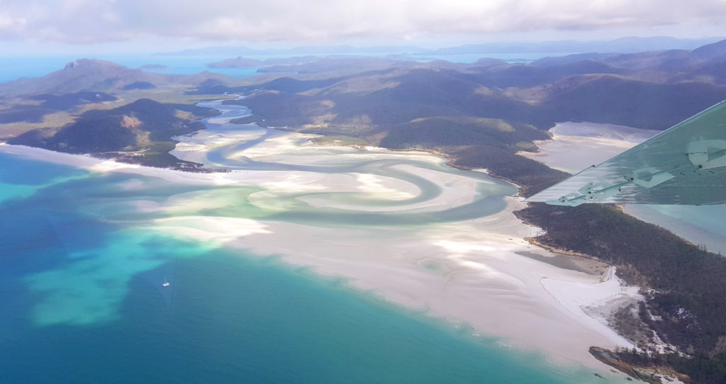 EB_ Whitehaven Beach as seen from Airplane