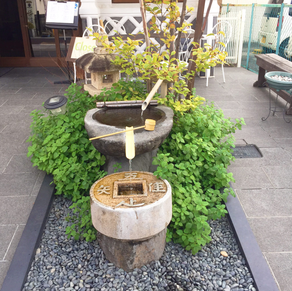 drinking water fountains in Matsumoto