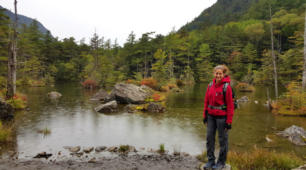 Exploring Kamikochi in the rain