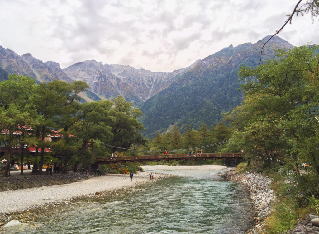 Hiking in Kamikochi