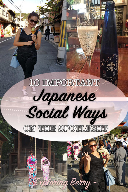 Know some of the most important Japanese social ways before traveling to Japan: tipping, table manners, greetings and much more.