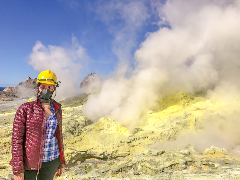 Best volcanic experience in NZ_White Island geothermal