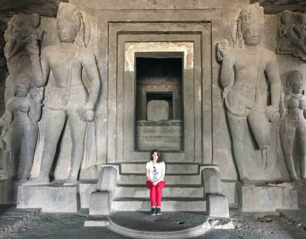 The Beautiful Ajanta and Ellora Caves in South-Western India