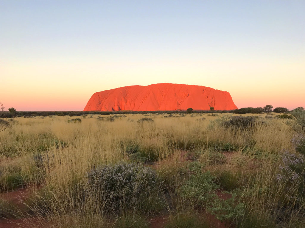 EB_Watching Sunset at Uluru