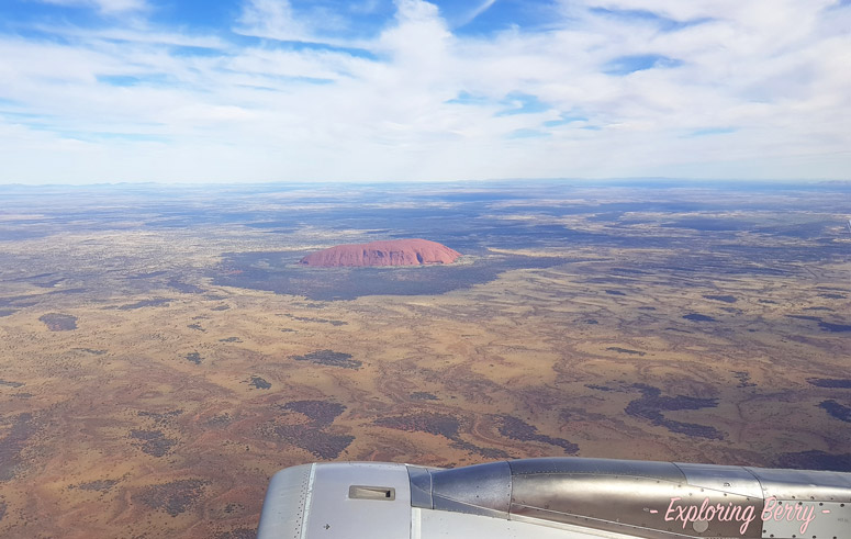 Uluru-airplane-view-exploringberry