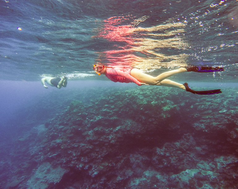 Snorkelling in Efate Island