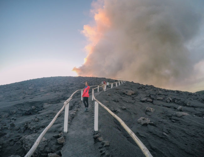 Enchanted by Melanesia's remote tribes, black magic and volcanoes