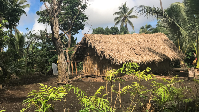 Louinio Village in Tanna Island